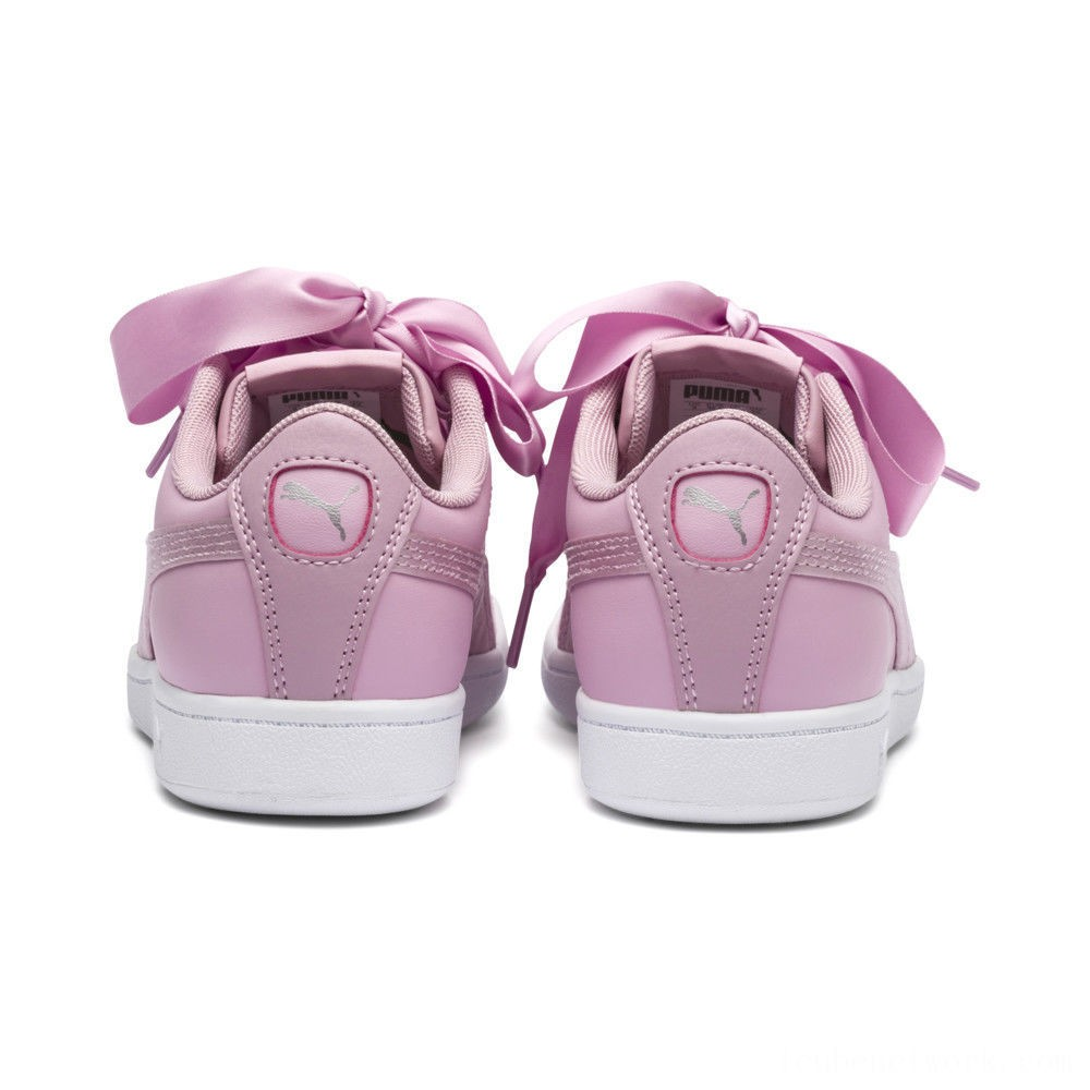 Black Friday 2020 Puma PUMA Vikky Ribbon Satin Sneakers JRPale Pink-Pale Pink Outlet Sale
