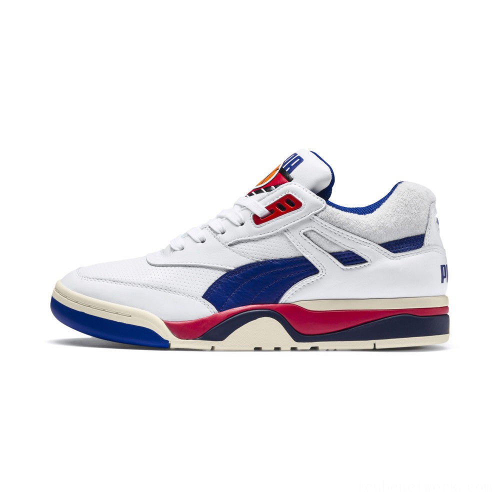 Puma Palace Guard OG Sneakers White-Surf The Web-Red Outlet Sale