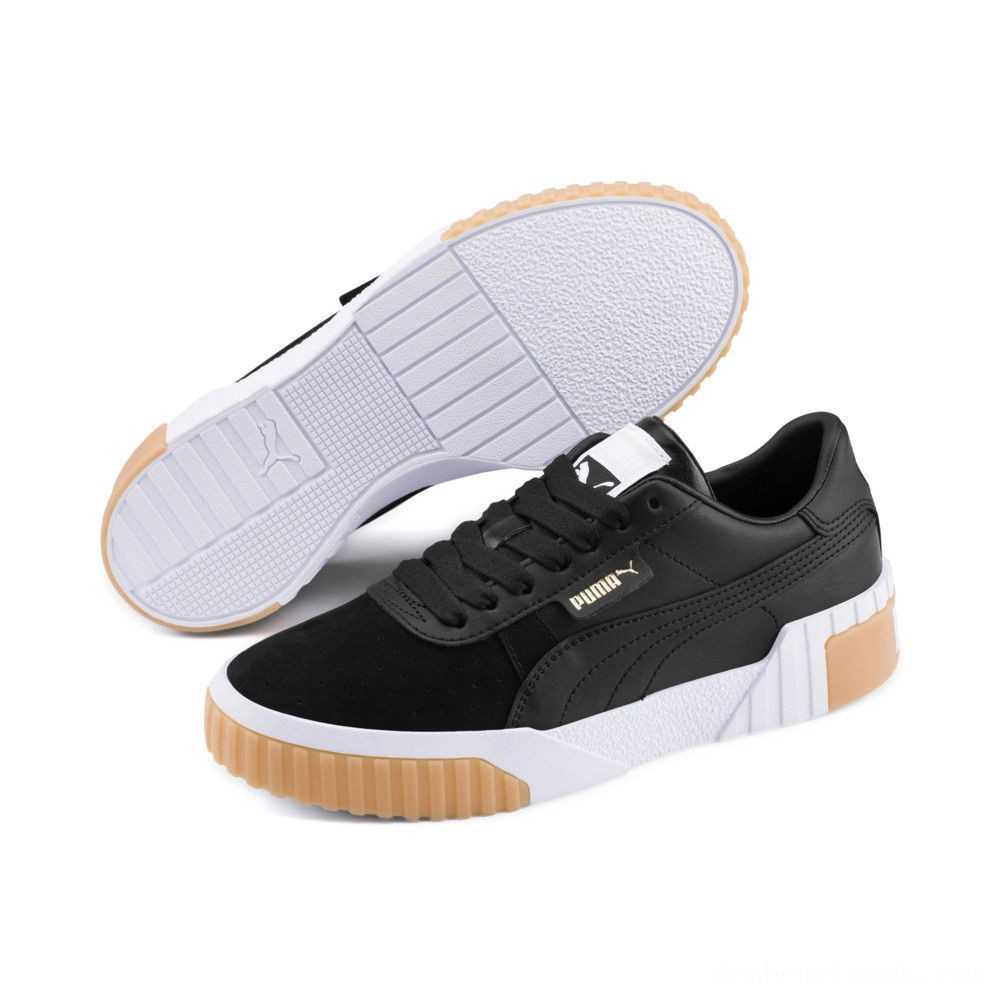 Black Friday 2020 Puma Cali Exotic Women's Sneakers Black- Black Outlet Sale