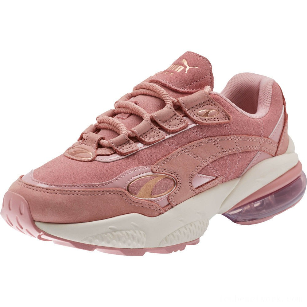 Black Friday 2020 Puma CELL Venom Patent Women's Sneakers Bridal Rose-Marshmallow Outlet Sale