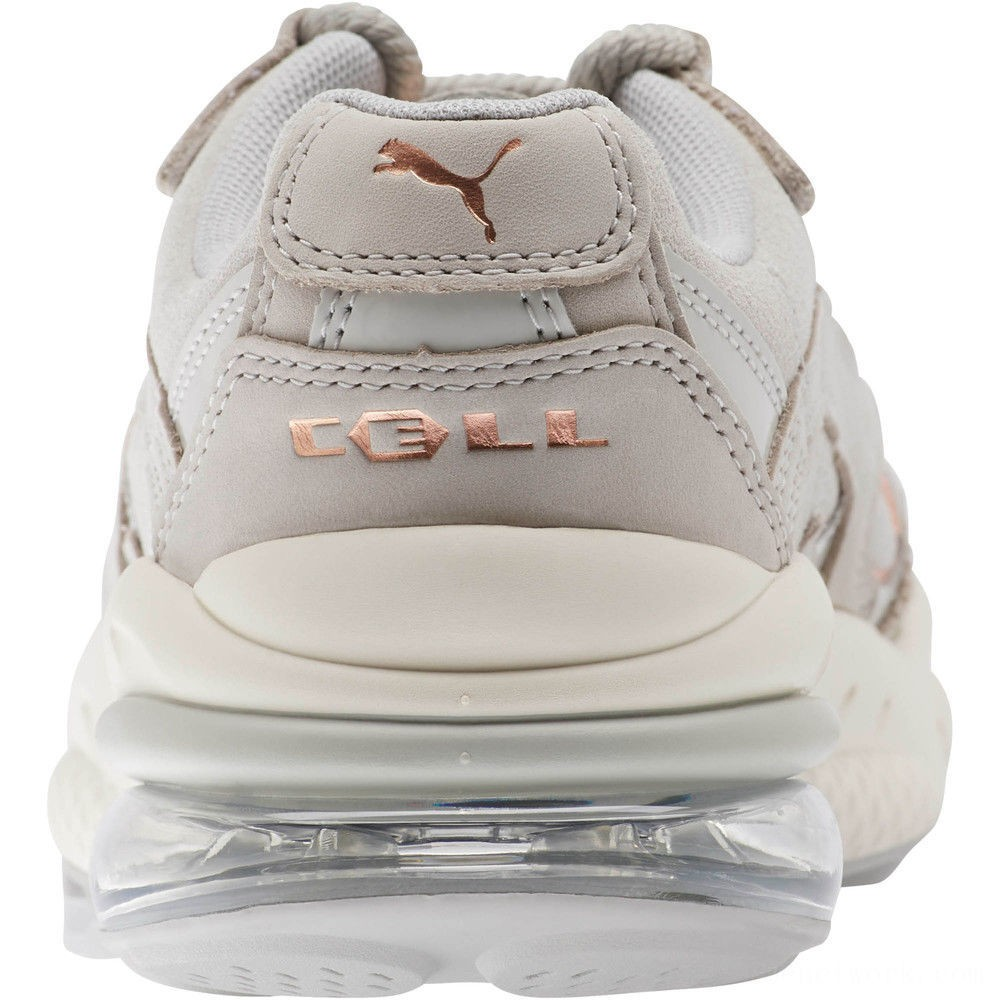 Puma CELL Venom Patent Women's Sneakers Gray Violet-Marshmallow Outlet Sale