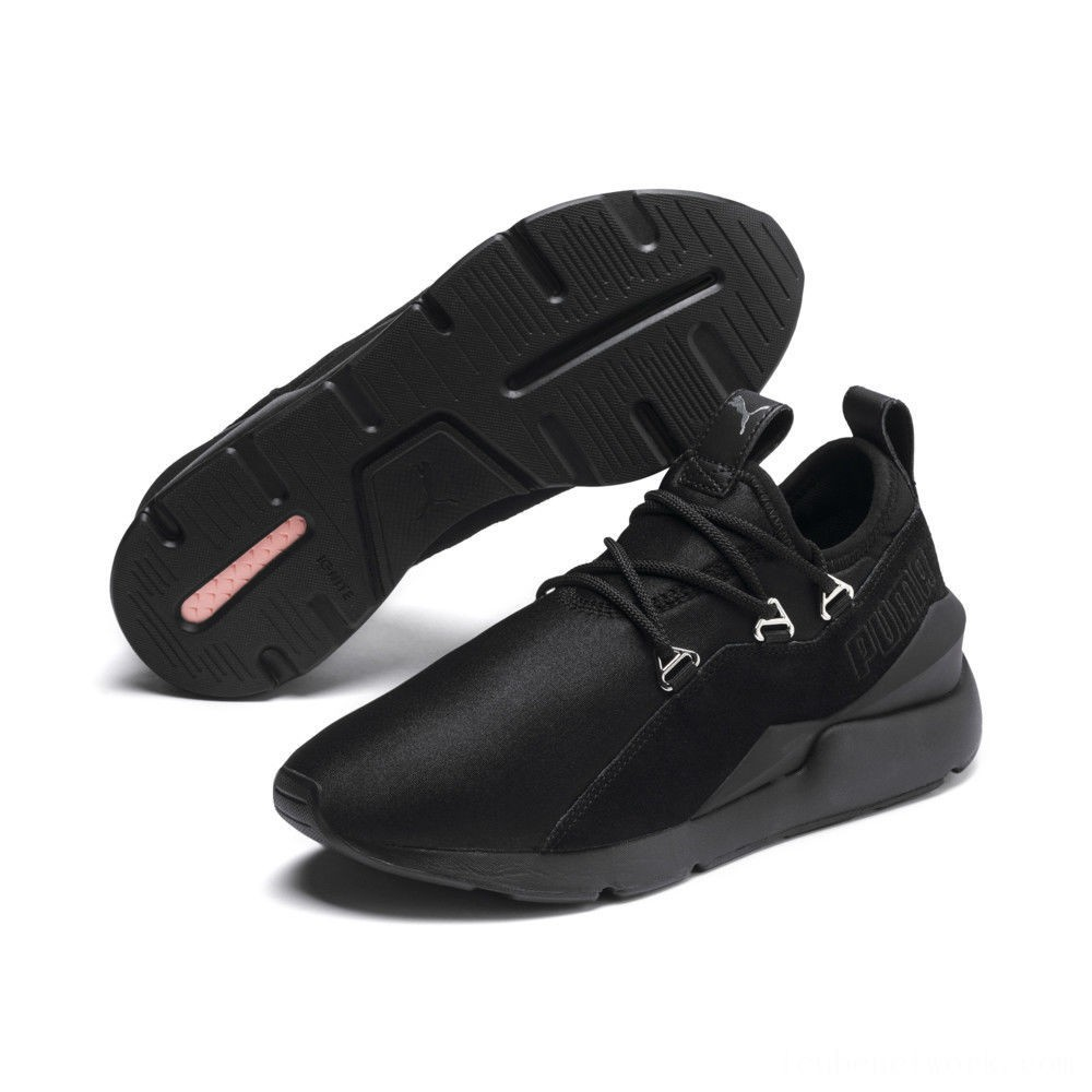 Black Friday 2020 Puma Muse 2 Women's Sneakers Black- Black Outlet Sale
