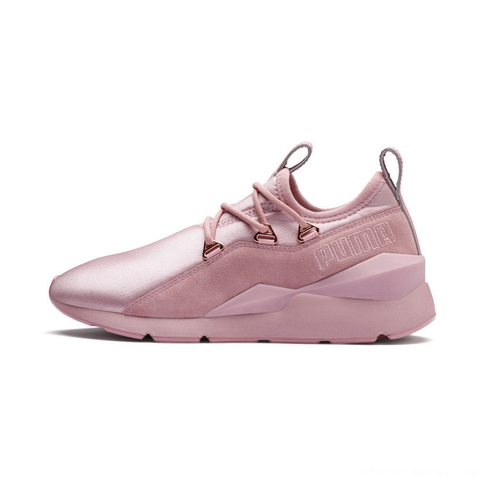 Black Friday 2020 Puma Muse 2 Women's Sneakers Bridal Rose-Bridal Rose Outlet Sale