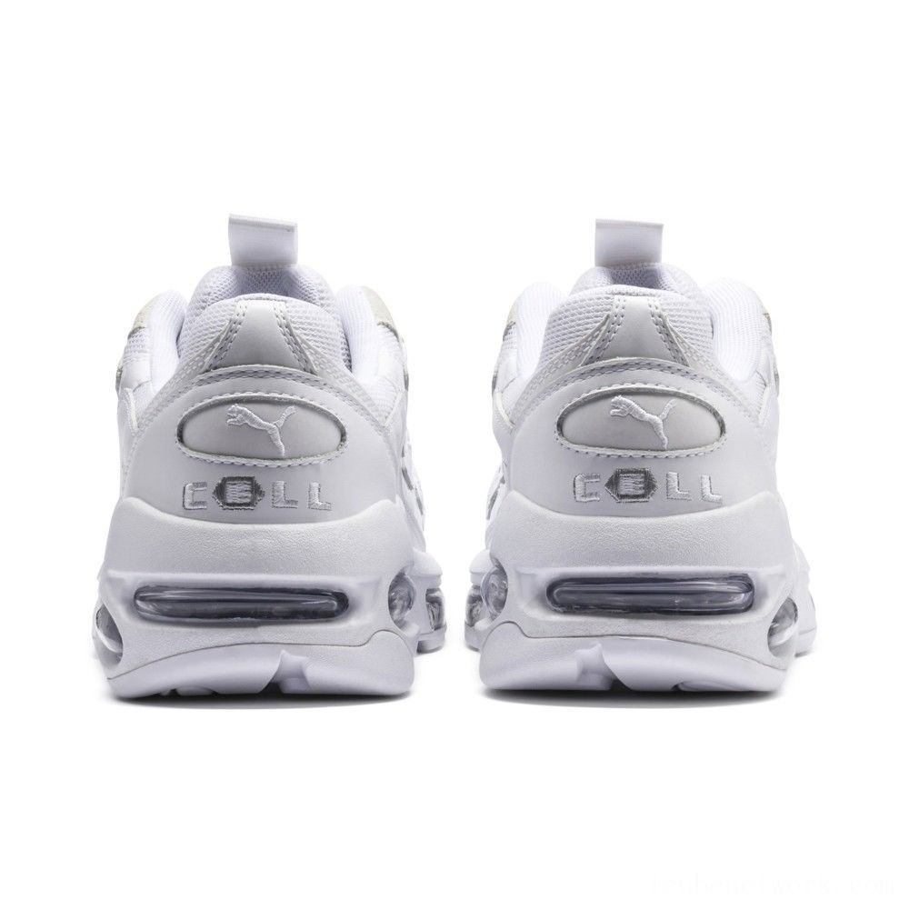 Black Friday 2020 Puma CELL Endura Reflective Sneakers White- White Outlet Sale