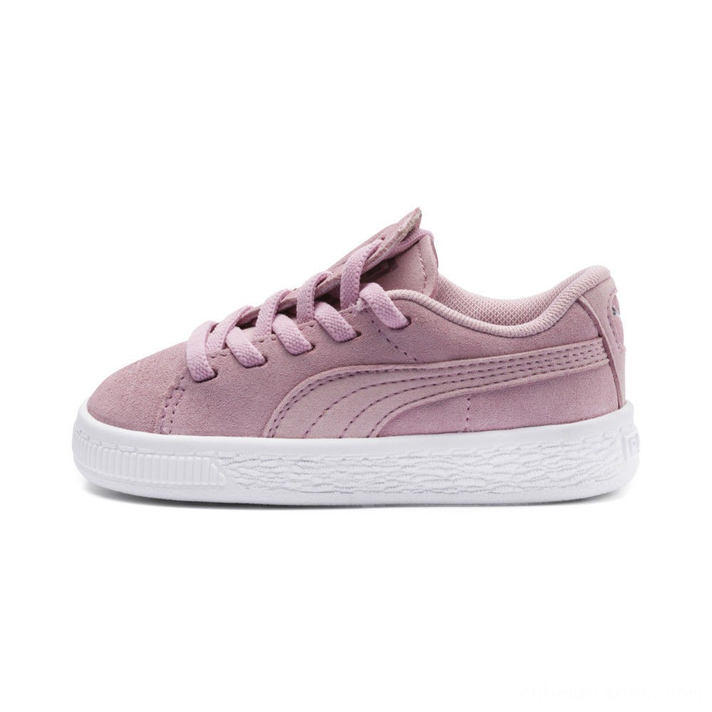 Black Friday 2020 Puma Suede Crush AC Sneakers PSPale Pink- Silver Outlet Sale