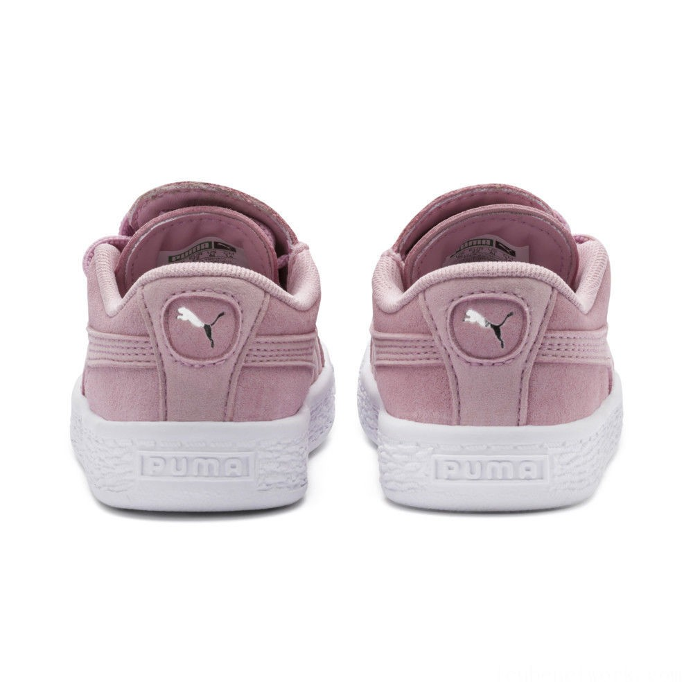 Black Friday 2020 Puma Suede Crush AC Sneakers INFPale Pink- Silver Outlet Sale