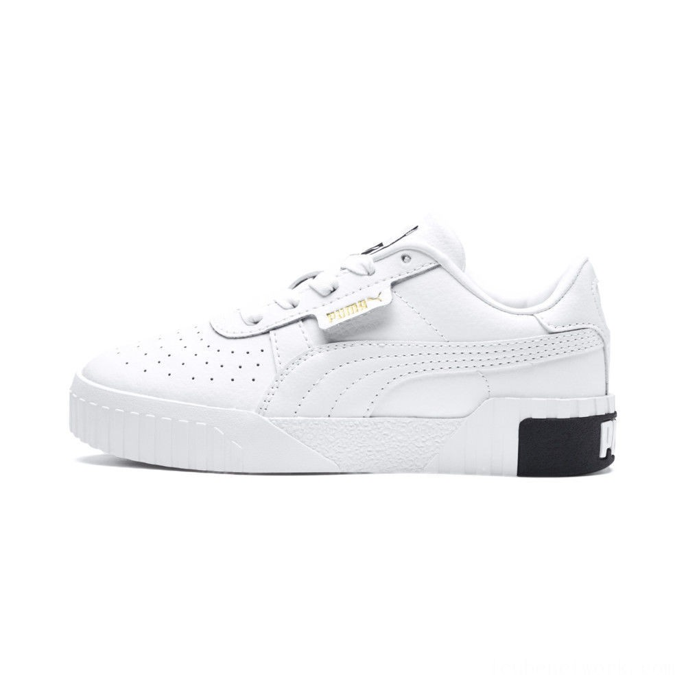Puma Cali Sneakers PS White- Black Outlet Sale
