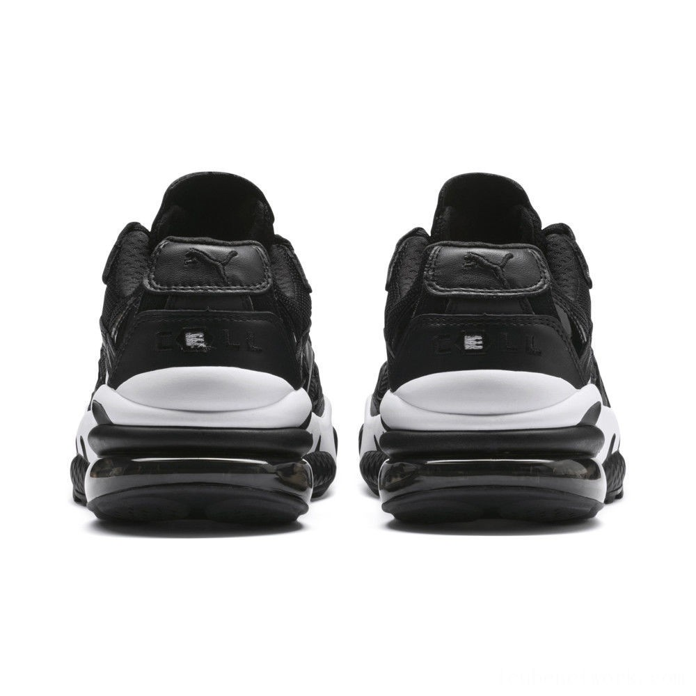 Puma CELL Venom Reflective Sneakers Black- White Outlet Sale