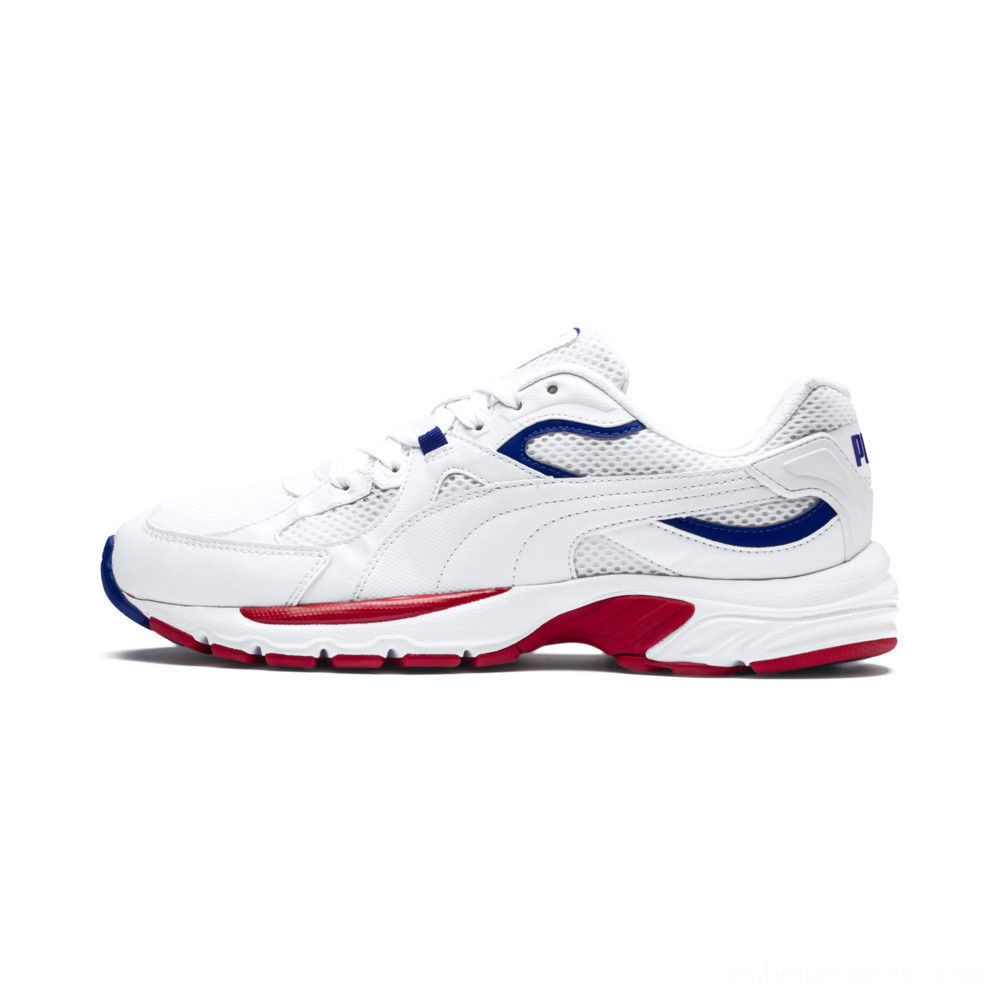 Puma Axis Plus 90s Sneakers White- White Outlet Sale