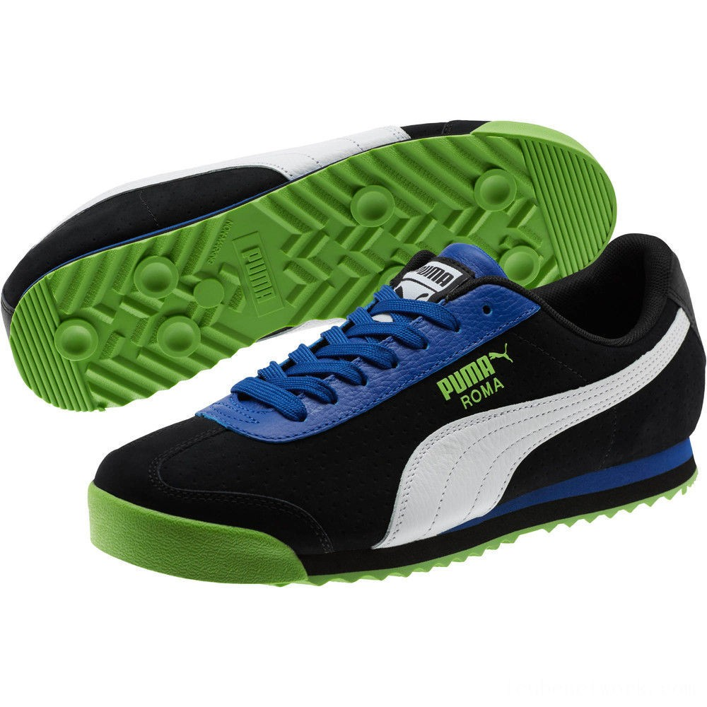 Black Friday 2020 Puma Roma XTG Perf Men's Sneakers Black-Surf The Web Outlet Sale
