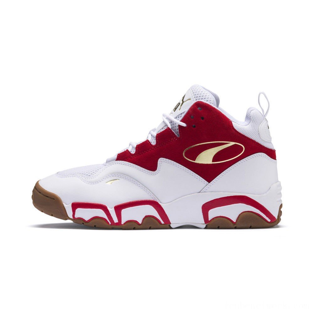 Black Friday 2020 Puma Source Mid Playoffs Sneakers White-Surf The Web- Outlet Sale