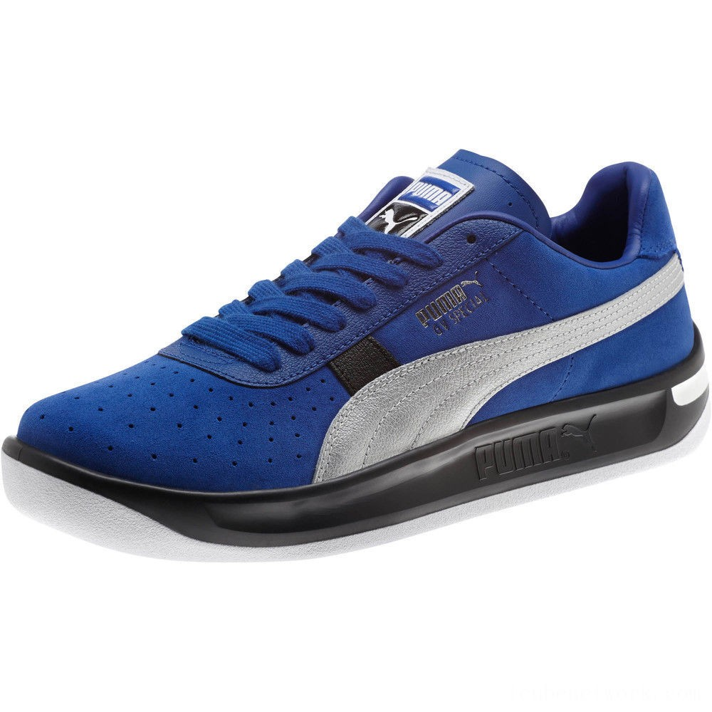 Puma GV Special Speedway VL Men's Sneakers Surf The Web- Silver Outlet Sale