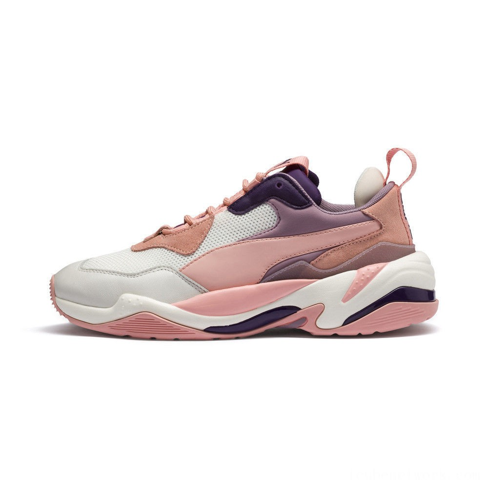 Black Friday 2020 Puma Thunder Fashion 1 Women's Sneakers Marshmallow-Peach Bud Outlet Sale