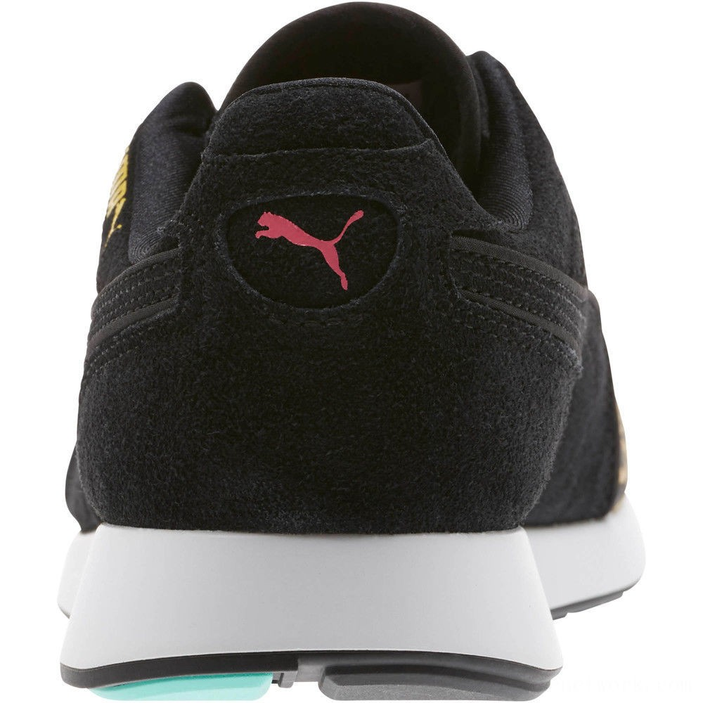 Puma RS-100 Party Cheetah Sneakers JRKNOCKOUT PINK- Black Outlet Sale