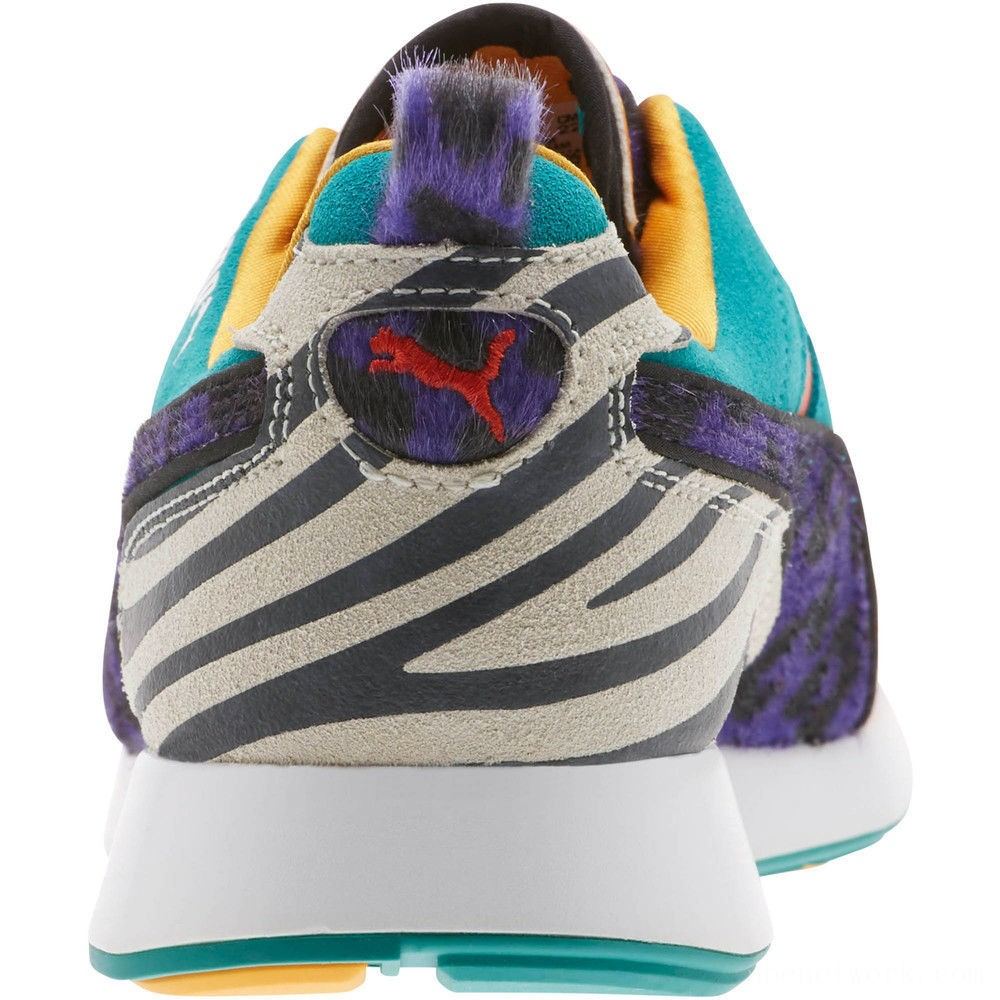 Black Friday 2020 Puma RS-100 Animal Sneakers JRWhite-Zinnia-Cherry Tomato Outlet Sale