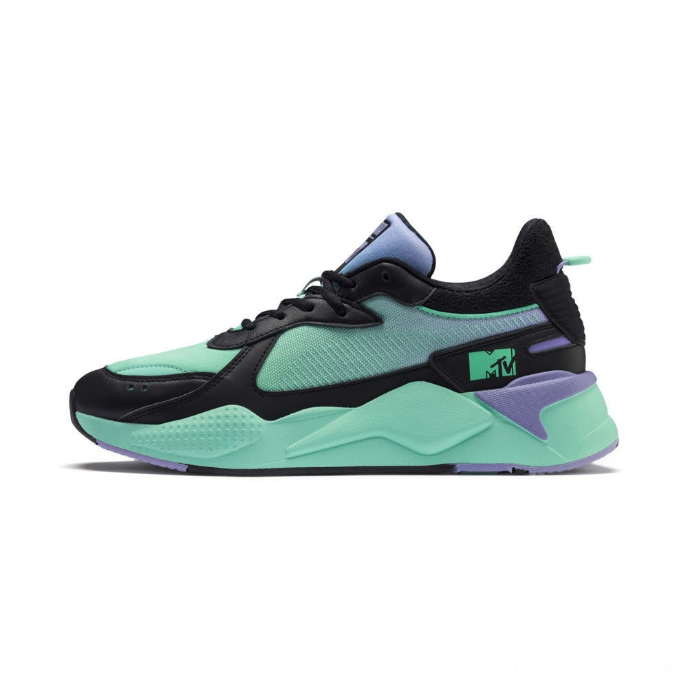 Black Friday 2020 Puma RS-X Tracks MTV Gradient Gloom Sneakers Black-Sweet Lavender Outlet Sale